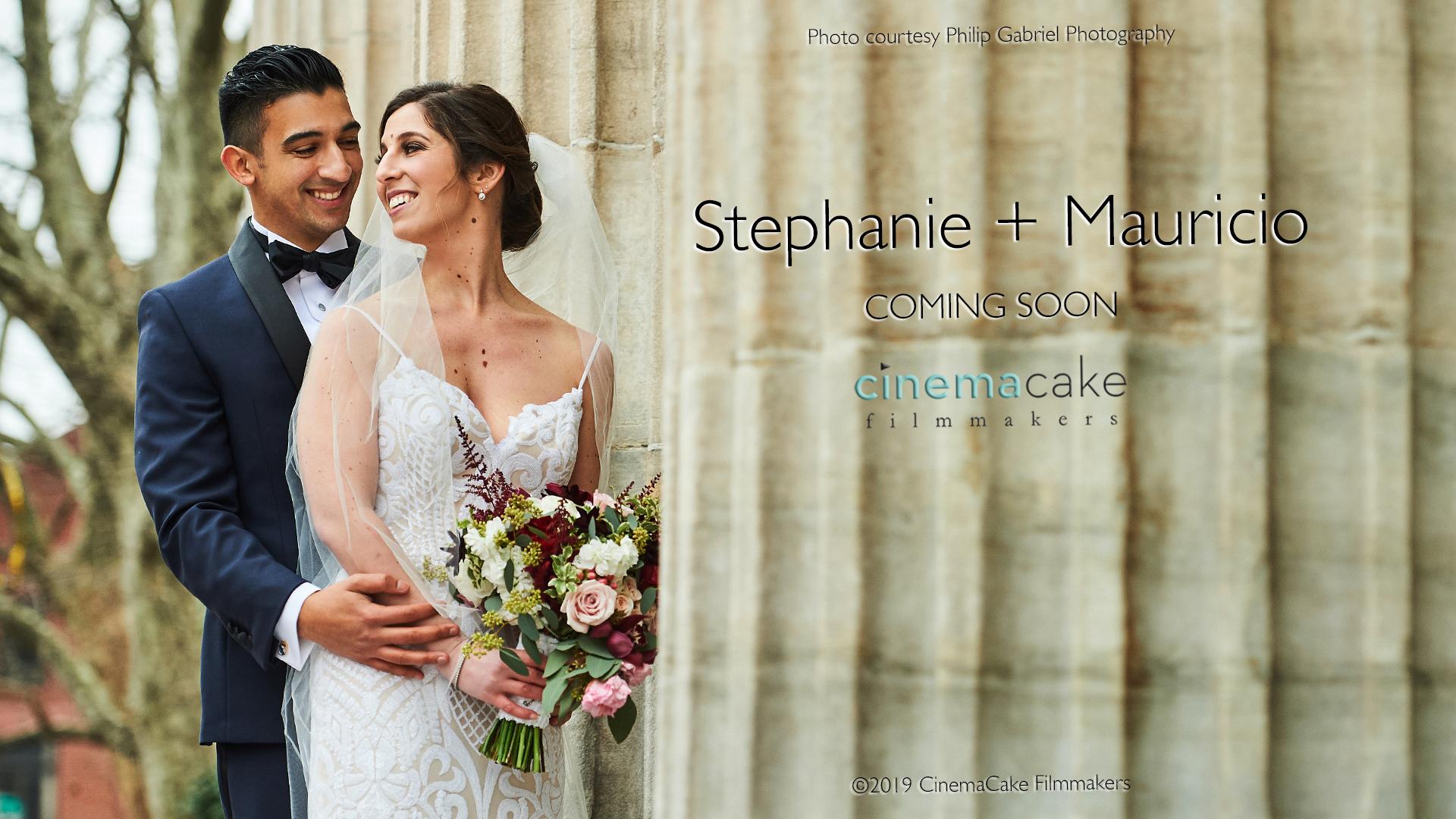 Stephanie and Mauricio
